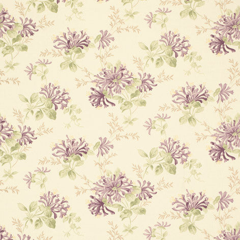Honeysuckle Trail Grape Fabric