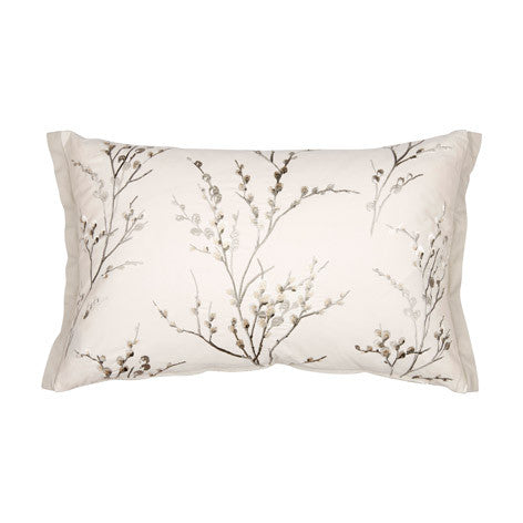 Pussy Willow Dove Grey Cushion