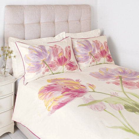 Gosford Bloom Cyclamen Duvet Cover
