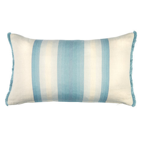 Corsham Stripe Seaspray Cushion