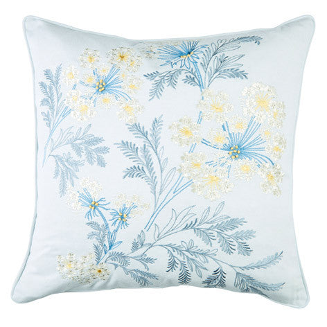 Sandford Embroidered Seaspray Cushion