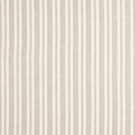 Brampton Stripe Dove Grey Fabric