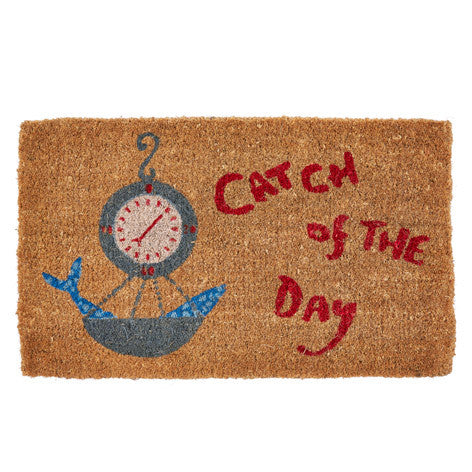 Catch of the Day Doormat