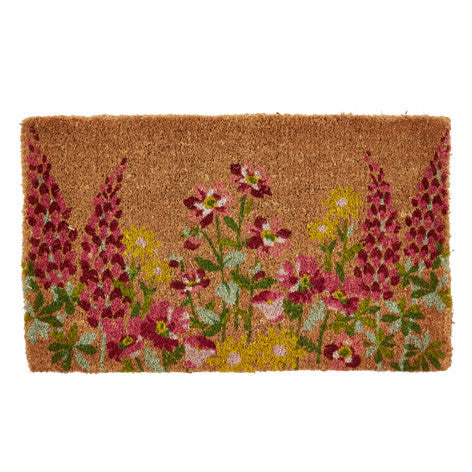Wild Meadow Floral Doormat