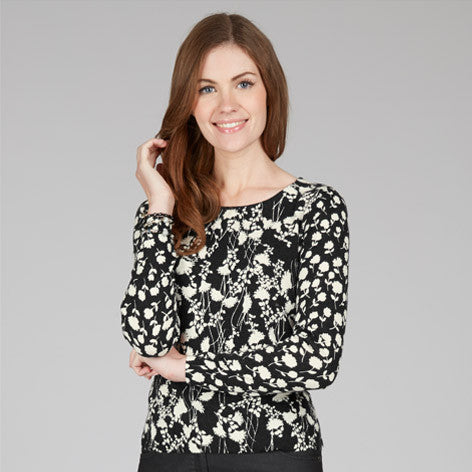 Silhouette Print Sweater