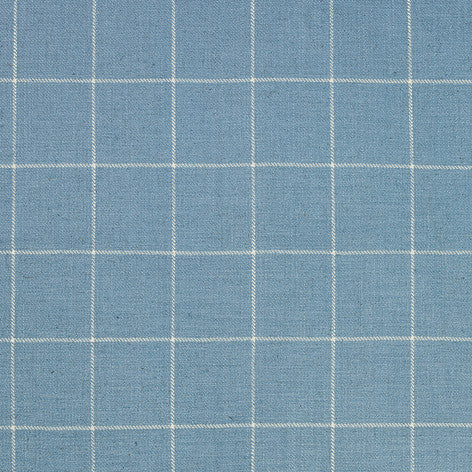 Elmore Check Seaspray Upholstery Fabric