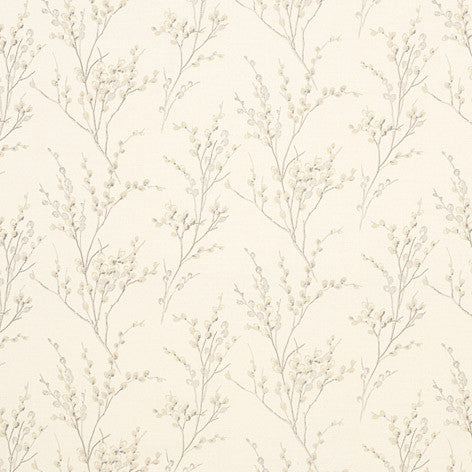 Pussy Willow Off White/Dove Grey Fabric
