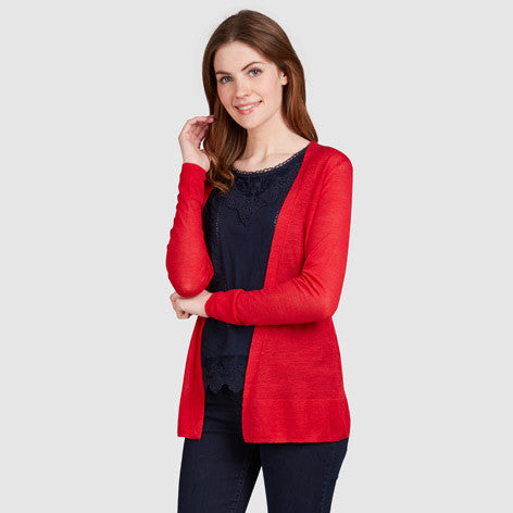 Ramie Edge to Edge Cardigan