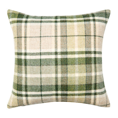 Mulholland Hedgerow Check Cushion