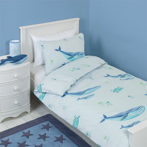 Blue Whales Bedset