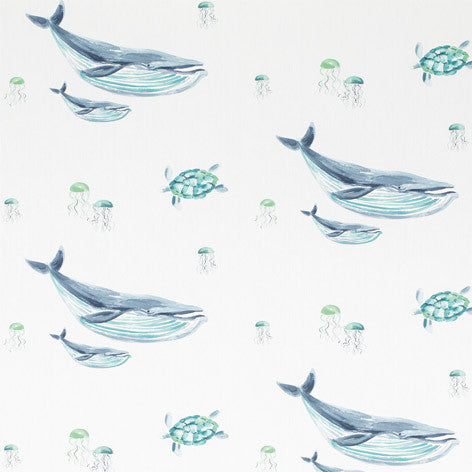 Blue Whales Wallpaper