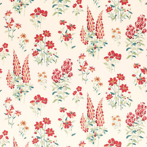 Fernshaw Cranberry Wallpaper