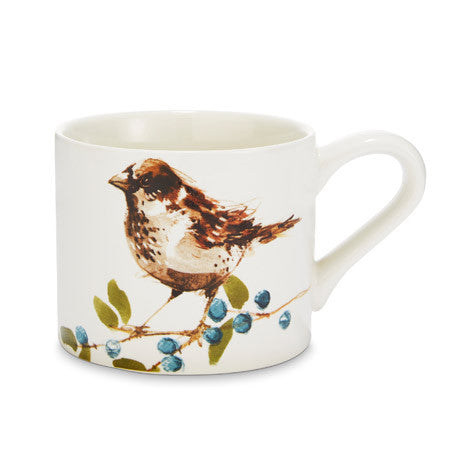 British Birds House Sparrow Mug