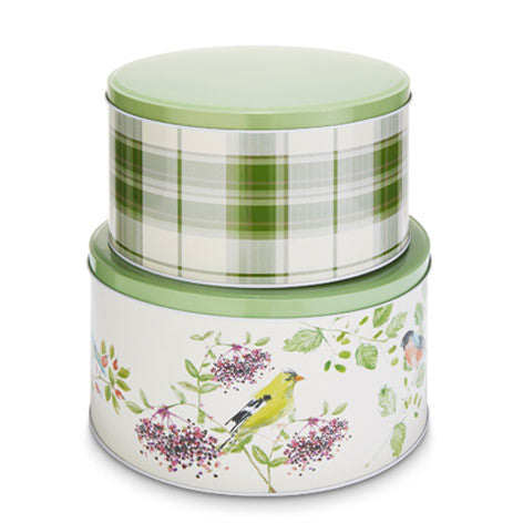 British Birds Set of 2 Cake Tins