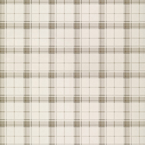 Highland Check Dove Grey Wallpaper