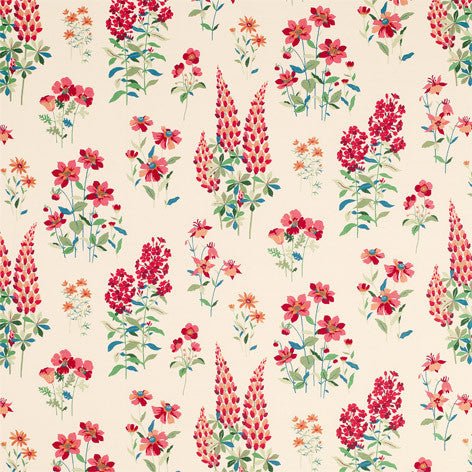 Fernshaw Cranberry Fabric