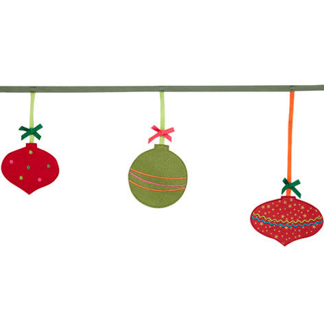 Christmas Bauble Bunting