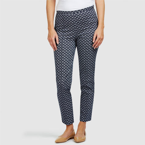 Heritage Print Cropped Trousers