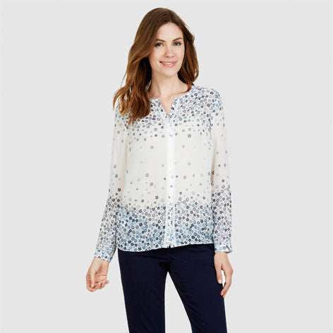 Scattered Daisy Print Blouse