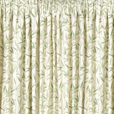 Willow Leaf Hedgerow Ready Made Curtains