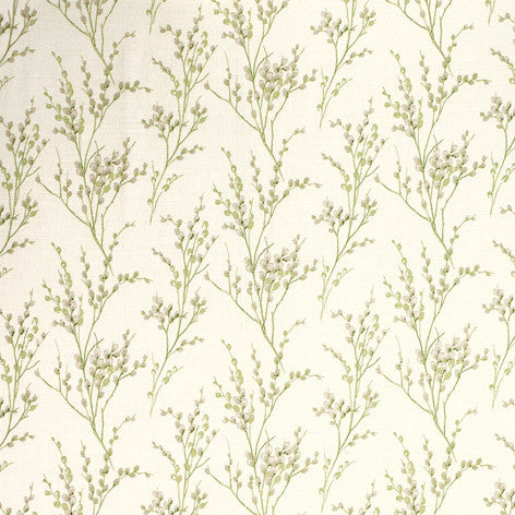 Pussy Willow Off White/Hedgerow Wallpaper