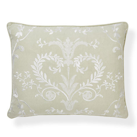 Josette Hedgerow Embroidered Cushion