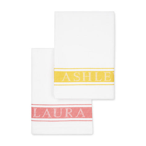 Set Of 2 Laura Ashley Tea Towels