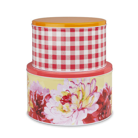 Floral Heritage Set of 2 Cake Tins