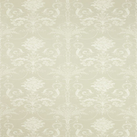 Josette Pale Hedgerow Wallpaper
