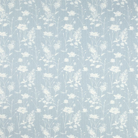 Dragonfly Garden Chalk Blue Fabric