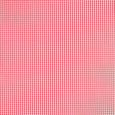 Gingham Pink Grapefruit Fabric