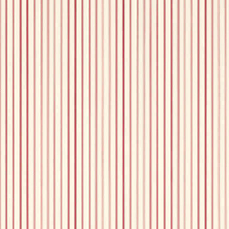 Farnworth Stripe Pale Cranberry Wallpaper