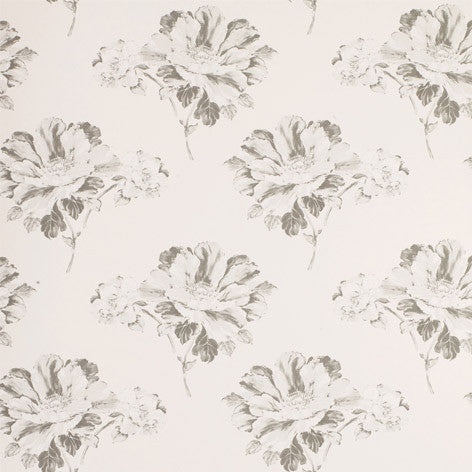 Hermione Off White/Charcoal Floral Wallpaper