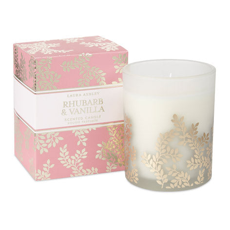 Rhubarb and Vanilla Scented Candle