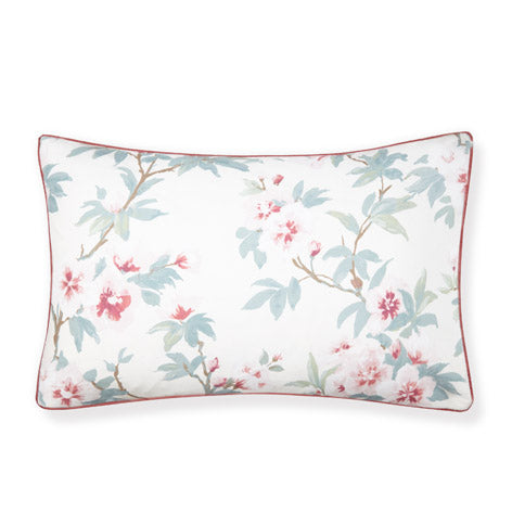Rosamond Cranberry Floral Pillowcase