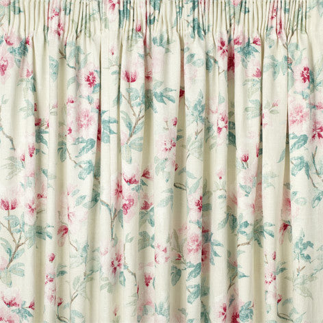 Rosamond Pale Cranberry Ready Made Curtains