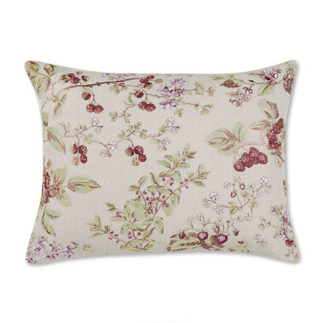 Berries Embroidered Cushion