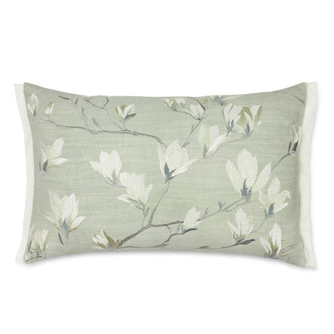 Magnolia Grove Embroidered Hedgerow Cushion