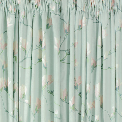 Magnolia Grove Duck Egg Ready Made Curtains