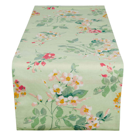 Spring Floral Table Runner