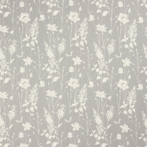 Dragonfly Garden Steel Curtain Fabric