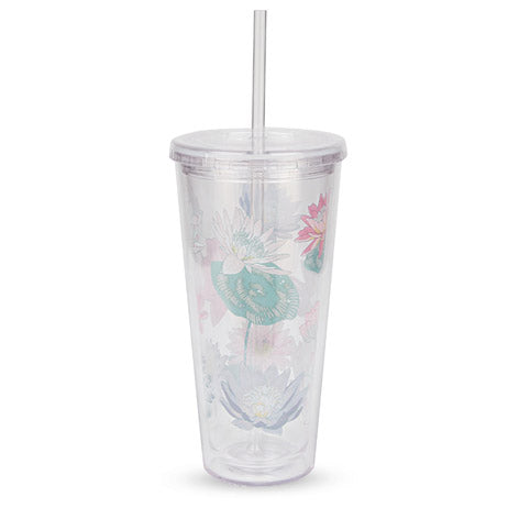 Waterlilies Water Straw Cup