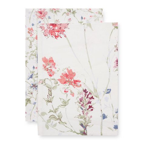 Set of 2 Meadow Flower Tea Towels