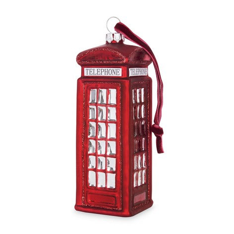 Phone Box Tree Decoration