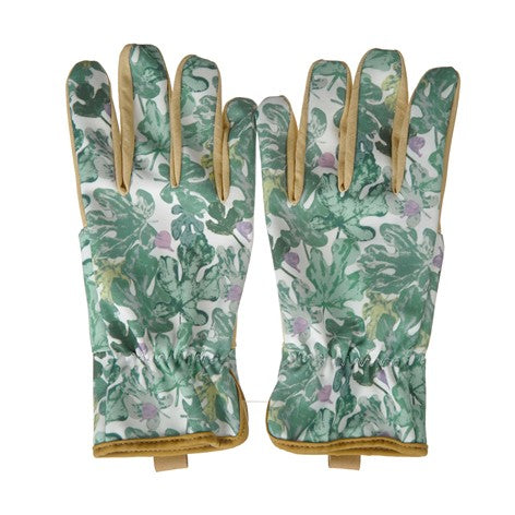 Botanical Floral Garden Gloves