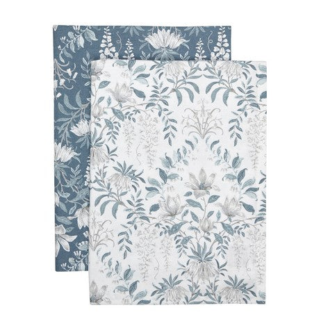 Parterre Printed Set of 2 Tea Towels