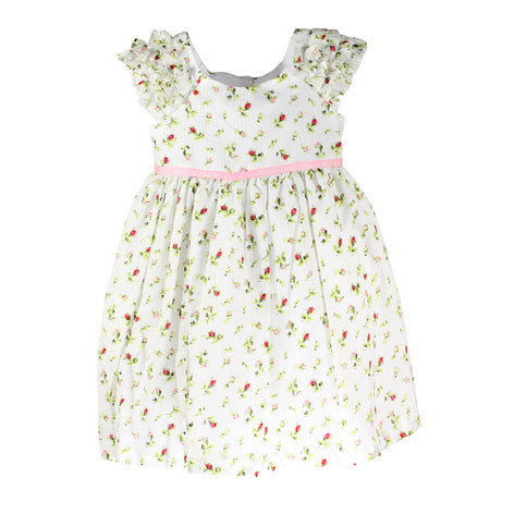 Cap Sleeve Ditsy Floral Toddler Dress