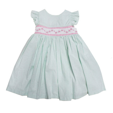 Seersucker Toddler Dress