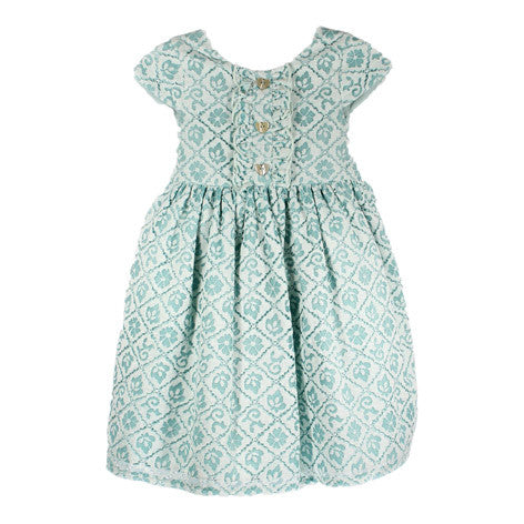 Cap Sleeve Lace Toddler Dress