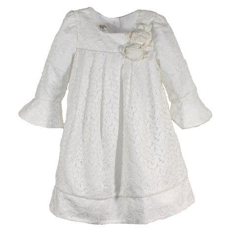 Bell Sleeve Lace Toddler Dress